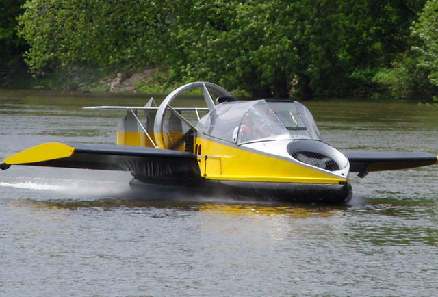 The hovercraft that\'s also a plane