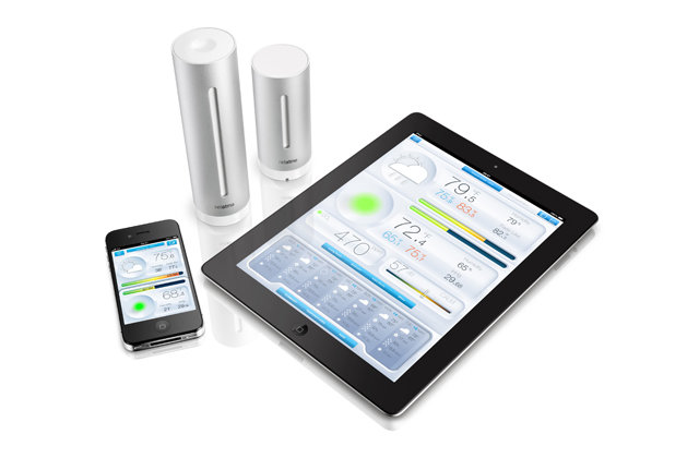 A weather monitor that sends updates to your mobile device