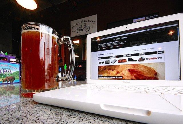 Buckman\'s boozy coffee shop