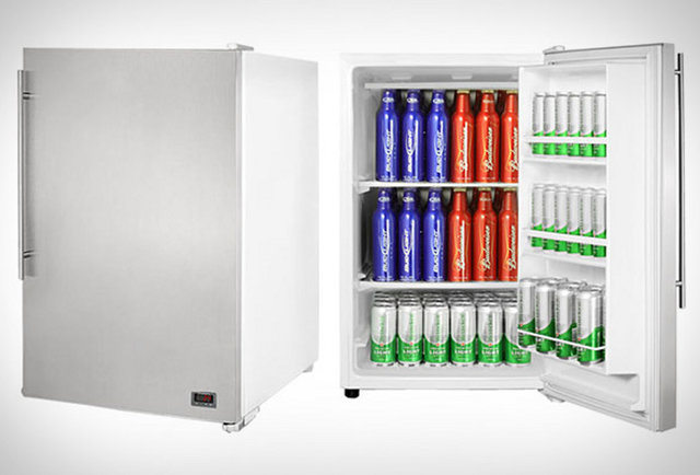 A freezer that gives you the perfectly chilled brew