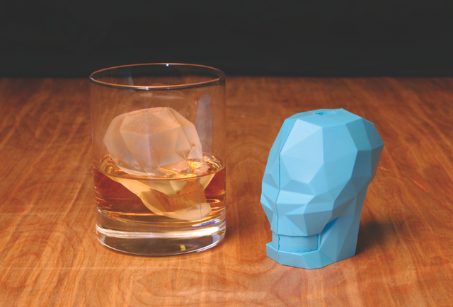 The ice mold that will chill your drink to the bone