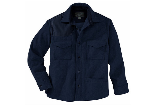 A rustic heavy-duty shirt made in the USA