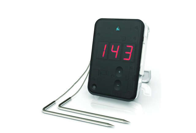 A Bluetooth food thermometer that lets you monitor your cooking from anywhere