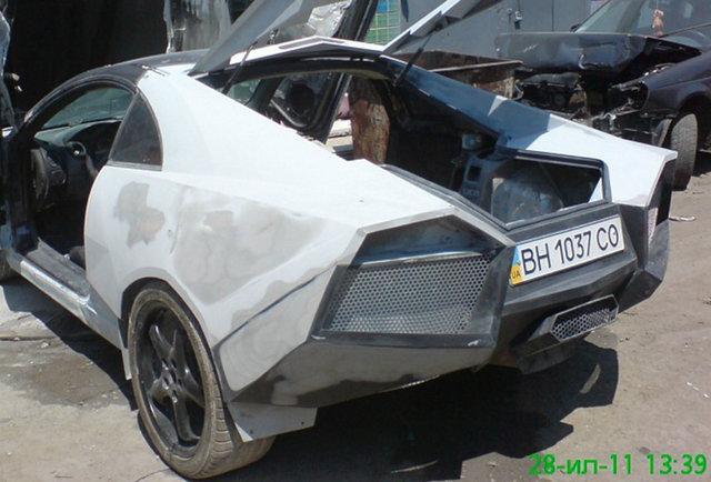 A Lamborghini made from a Mitsubishi -- it\'s a Mitsughini!
