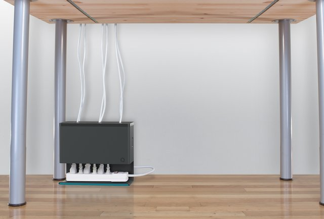 The power cord organizer