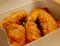 Box of Chick-a-Licious chicken
