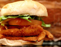 Chicken Finger Sandwich