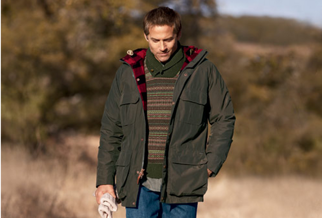 The perfect coat for the great outdoors or windy city blocks