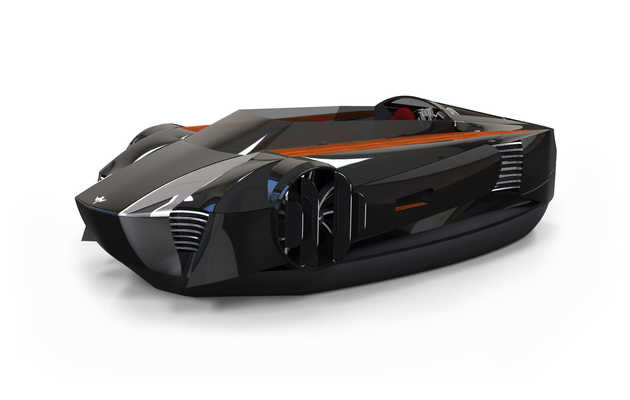 A hovercraft that will make your Maserati obsolete