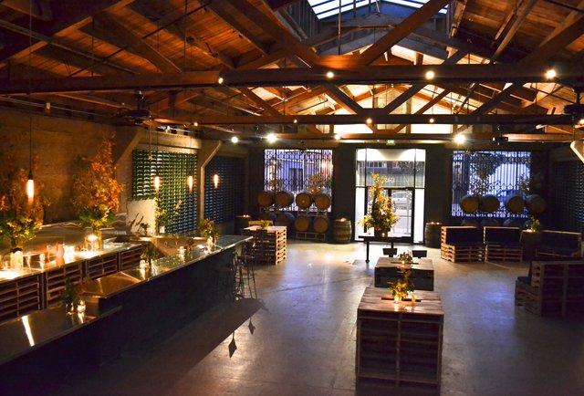 An in-city winery sets up shop