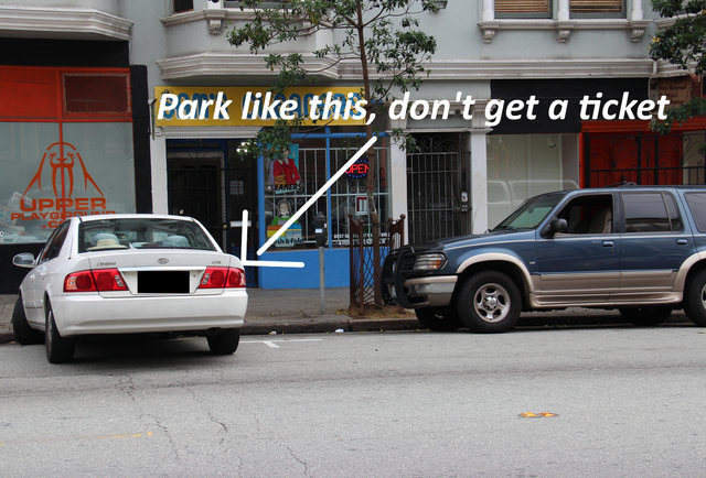 Save bagillions of dollars on parking tickets via text