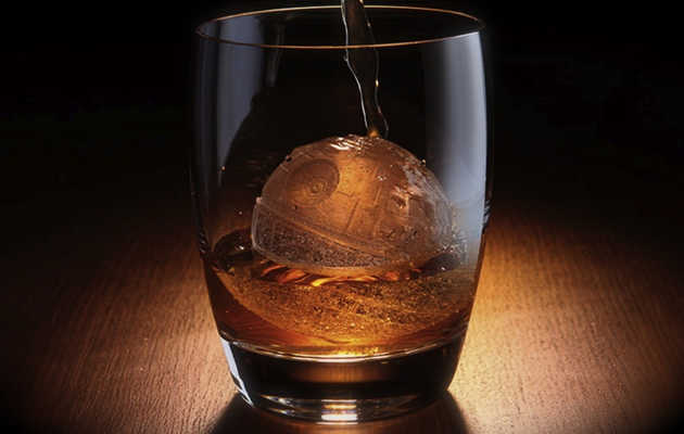 Forget on the rocks, have your whiskey on a Death Star