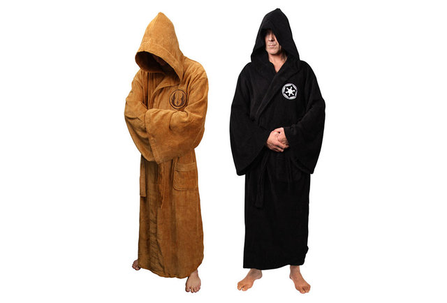 Be at one with the Force in these Star Wars bathrobes