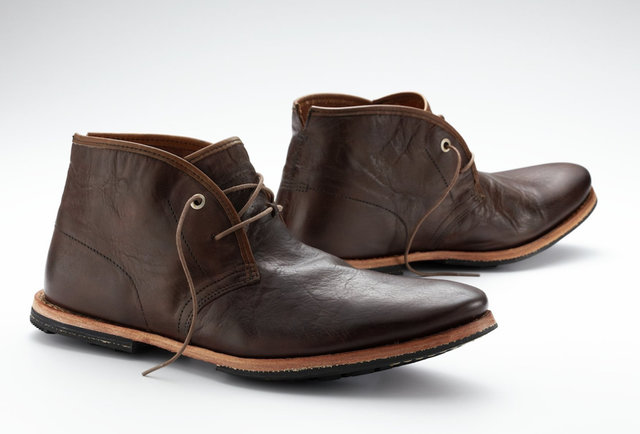 The lightweight leather boot with timeless style