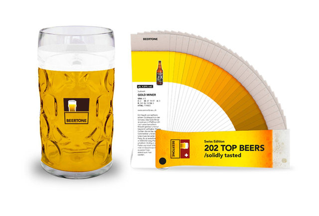 A color guide for the most particular of beer connoisseurs