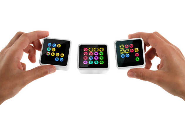 An interactive game system that fits in your pocket