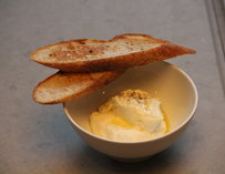 Ricotta and toast