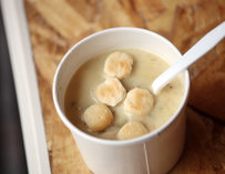 New Englad clam chowder