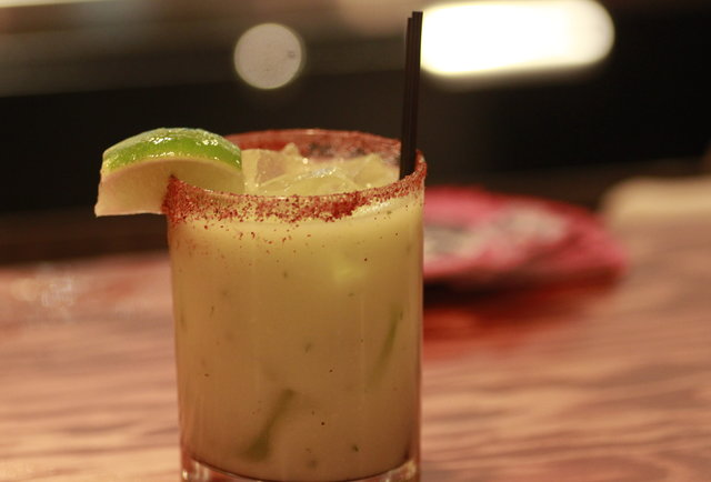 Trigger\'s off-menu marg, just for you