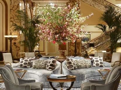 The Fairmont-Hotel Lobby-San Francisco