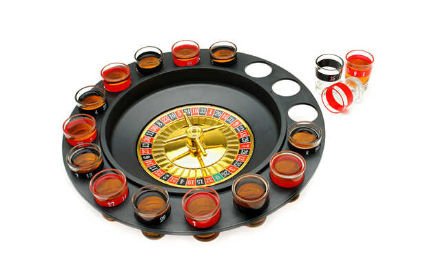 A drinking game for those who like to gamble