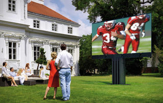 The world's largest outdoor LED TV