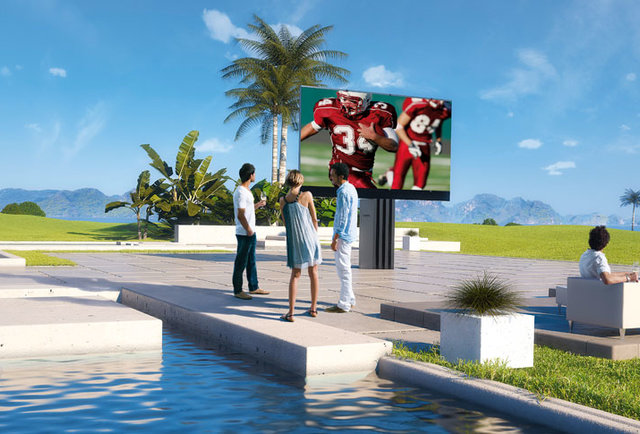 The world\'s largest outdoor LED TV