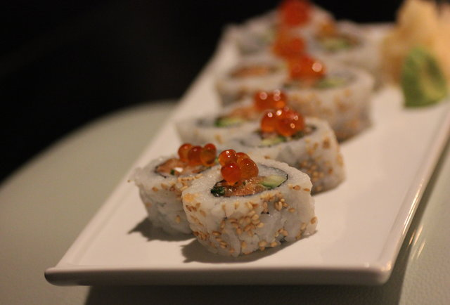 Swank sushi and \'tails
