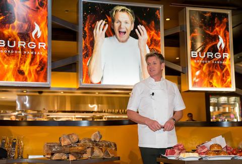 Gordon Ramsay Burgr Eat Thrillist Las Vegas