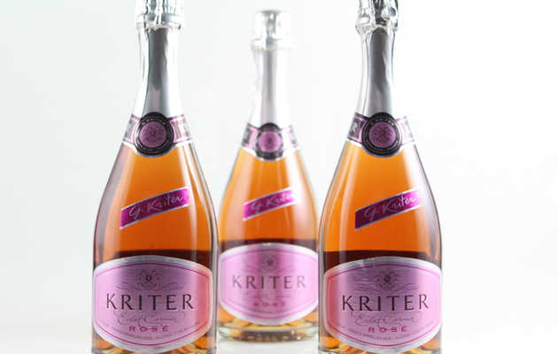 Pink bubbles to complement your Valentine's Day dinner