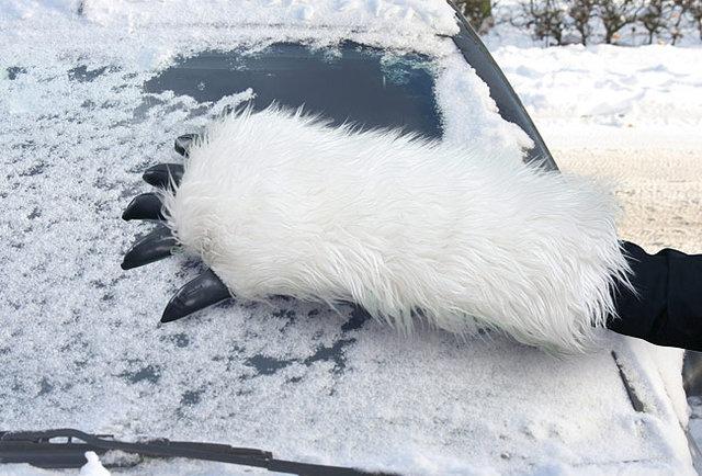 Ice scraping has never been geekier