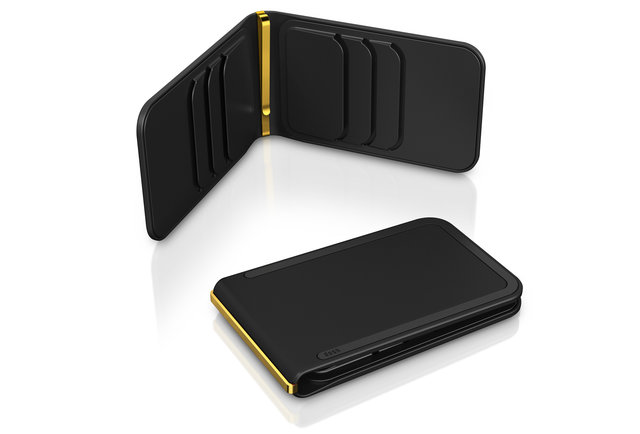 The gold standard of money clips
