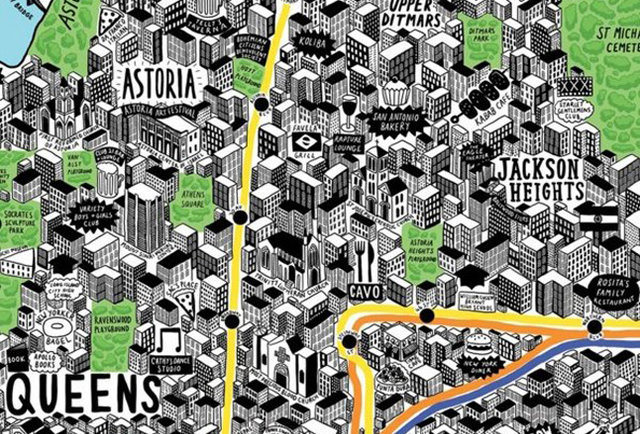 A colorful ode to New York to adorn your walls
