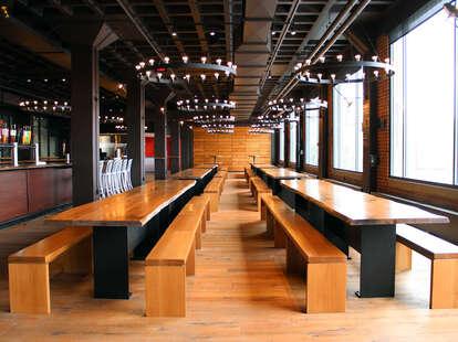 Harpoon Brewery's Beer Hall Interior--Boston