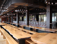 Harpoon Brewery's Beer Hall Interior--Boston