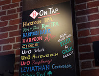 Harpoon Brewery's Beer Hall Draft List--Boston