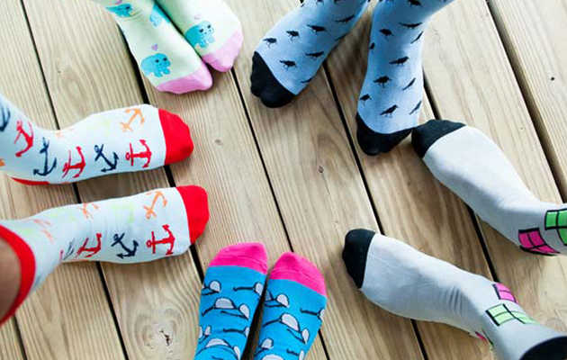 A subscription service that spices up your sock drawer