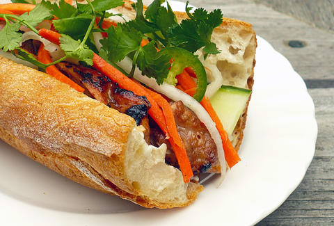 Banh mi from Plume in Seattle