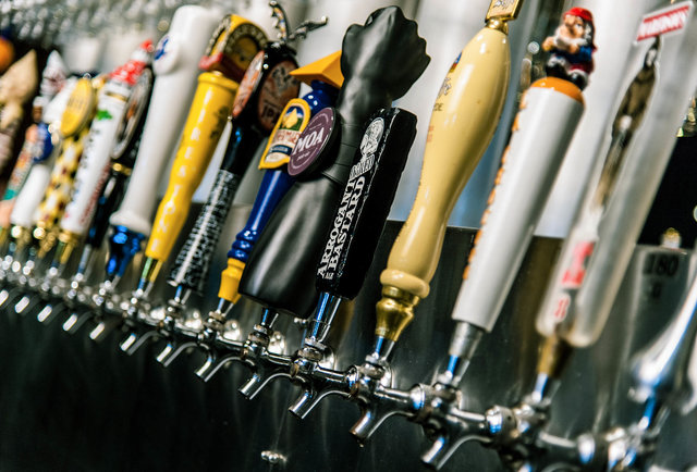 130 beers on tap Downtown