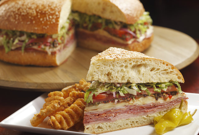 Grilled-cheese burgers and a six-person muffuletta that\'s actually just for you