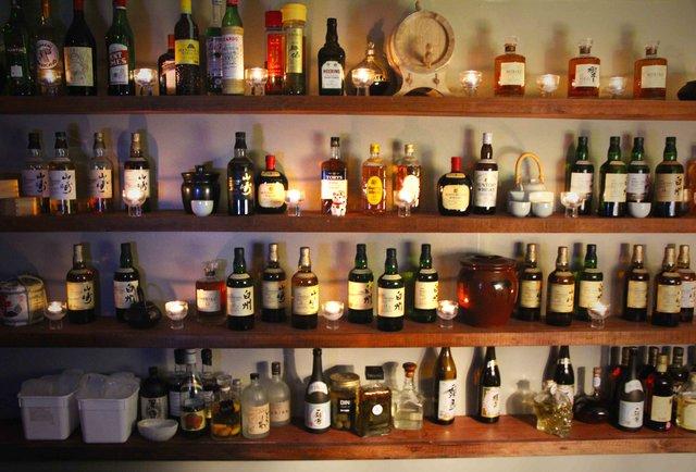 An underground Japanese whiskey bar in Soho