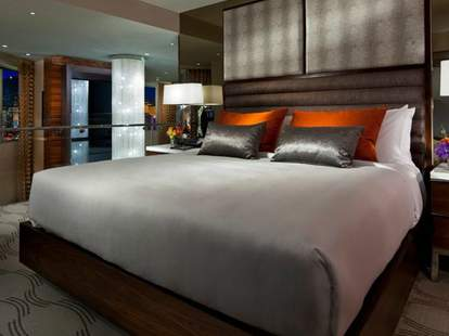 Bed at MGM Grand Hotel & Casino in Las Vegas