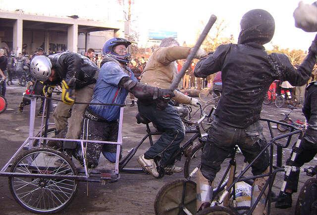 Bike chariots of fire