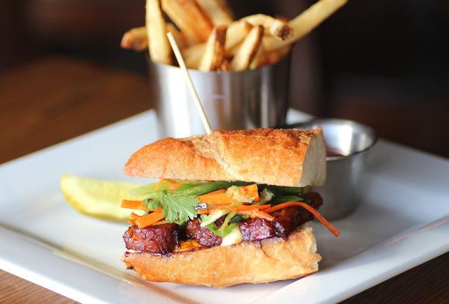 Fine burgers, beer, and wine on West 50th