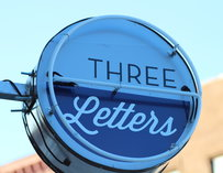 Three Letters sign
