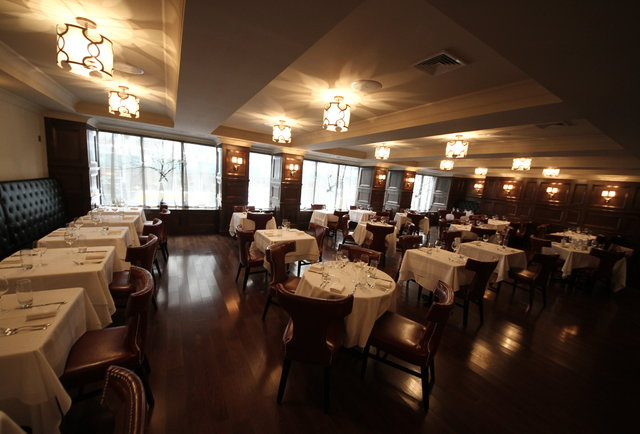 A big, gorgeous steakhouse with an on-premises butcher