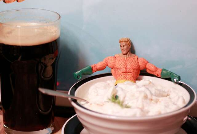 Pitch-black beers and pitch-perfect chowder