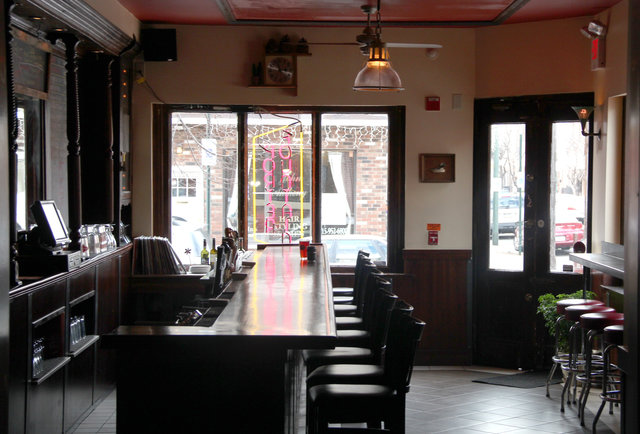 A 20-draft beer bar with some meat to it