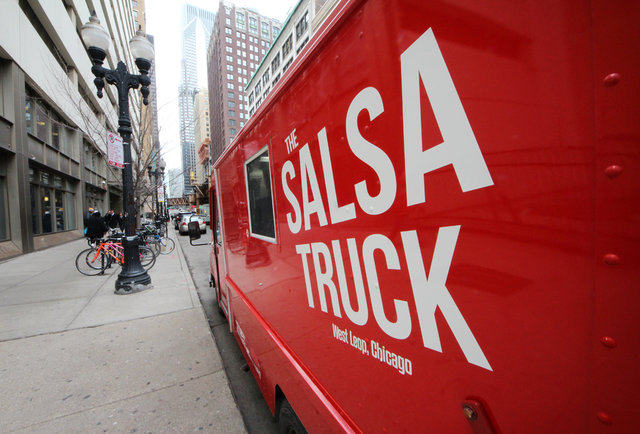 Saucy mobile Mexican food