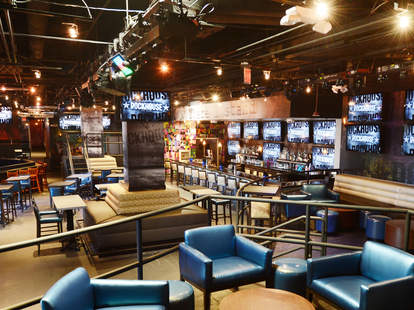 Interior of the Rockhouse Bar in Las Vegas